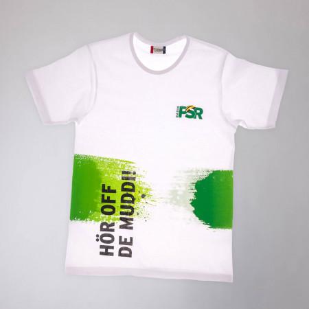 """RADIO PSR T-Shirt """"Hör off de Muddi"""""""